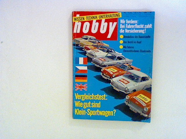 Hobby Wissen Technik Unterhaltung. Nr.11/ 63