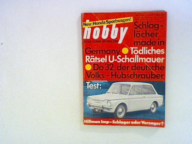 Hobby Wissen Technik Unterhaltung. Nr.12/ 63