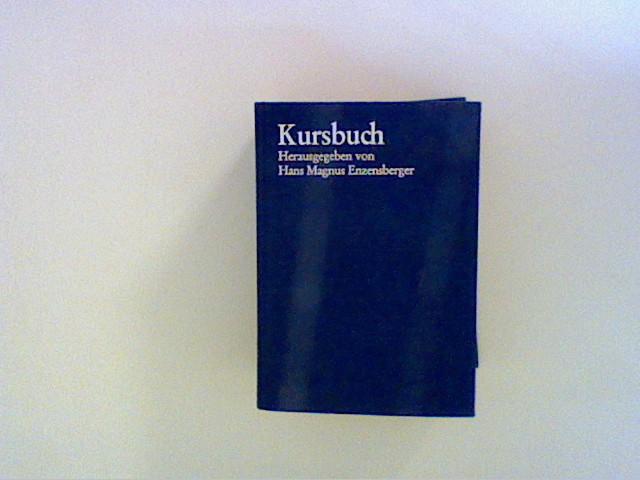Enzensberger, Hans Magnus: Kursbuch Band II 1968 bis 1970 Bd. II
