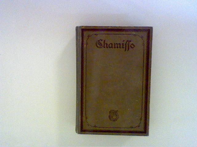 Chamisso und Hermann Tardel: Chamissos Werke , Zweiter Band- Gedichte