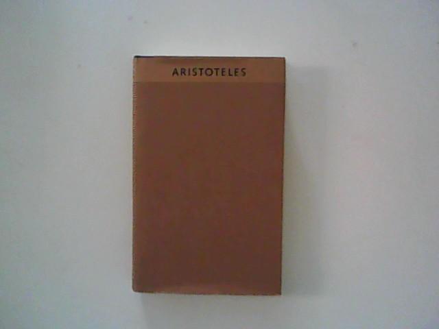 Meisterwerke der Antike. Aristoteles. Einführungsschriften