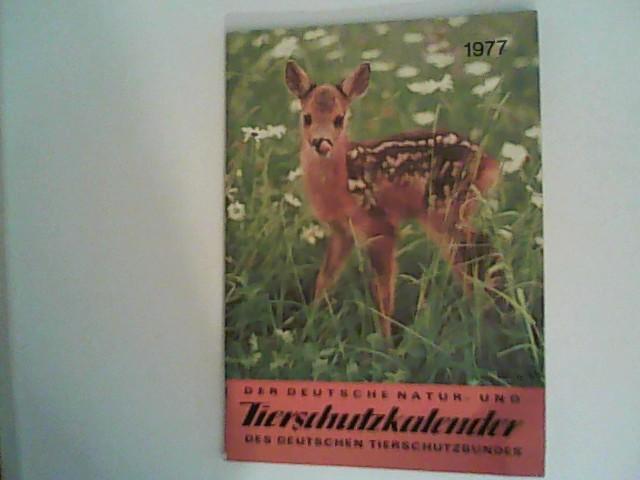Tierschutzkalender 1977.