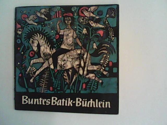 Buntes Batik- Büchlein.