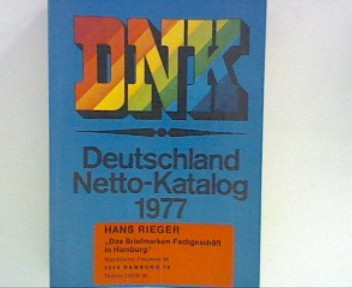 DNK Deutschland Netto-Katalog 1977 mit Europa-Union