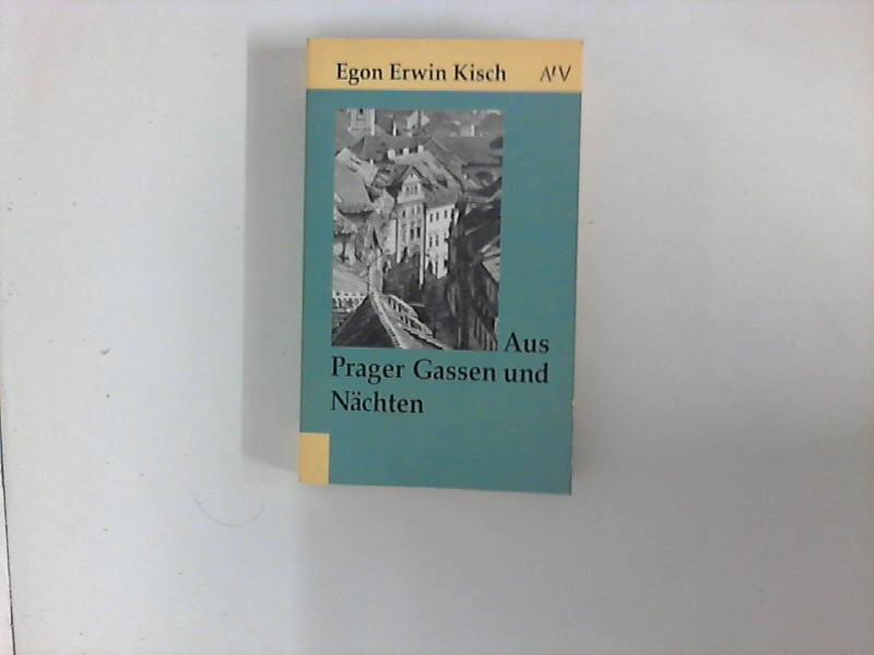 Aus Prager Gassen und Nächten. Aufbau-Taschenbücher ; 30 1. Aufl.
