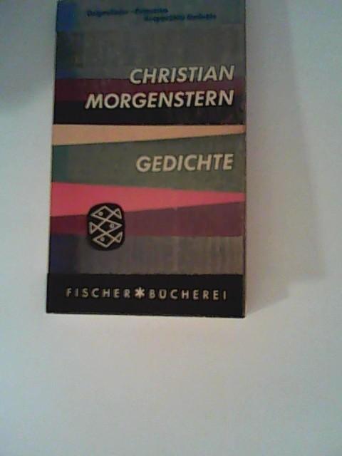Morgenstern, Christian: Gedichte