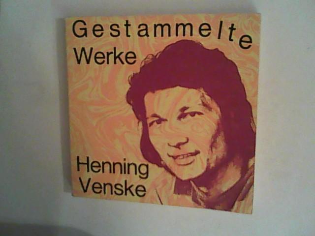 Venske, Henning: Gestammelte Werke.