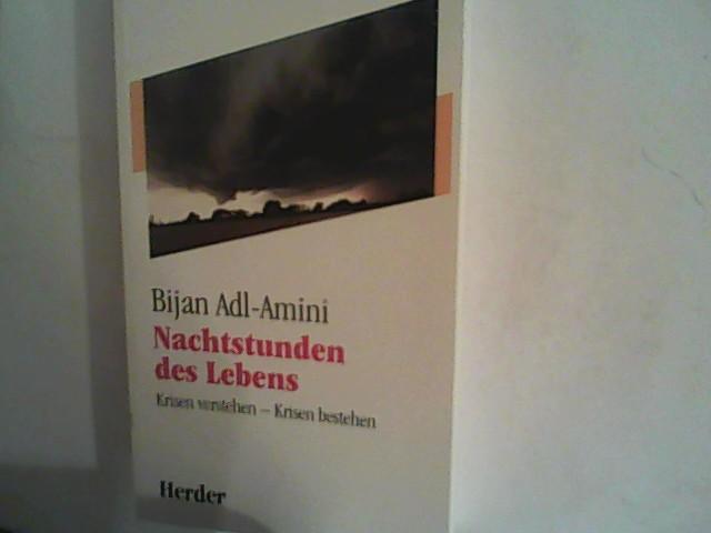 Bijan, Adl- Amini: Nachtstunden des Lebens. Krisen verstehen - Krisen bestehen