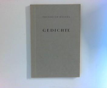 Gedichte Auslese und Nachwort von Georg Ehrhardt