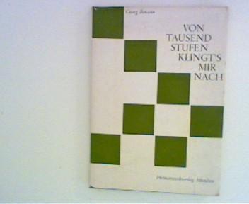 Ihmann, Georg: Von Tausend Stufen klingt´s mir nach  Gedichte
