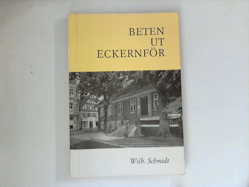 Beten ut Eckernför : Vertelln, Riemels, Dööntjes