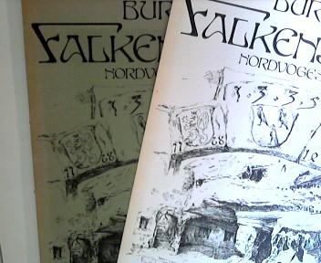 Burg Falkenstein - Nordvogesen Loseblattsammlung 35 Seiten Historie und Aquarelle