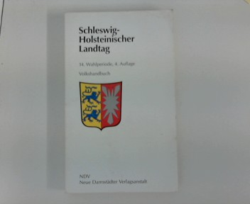 Schleswig-Holsteinischer Landtag - 14. Wahlperiode 1996 - 2000 Stand Dezember 1998 : Volkshandbuch 4. Auflage