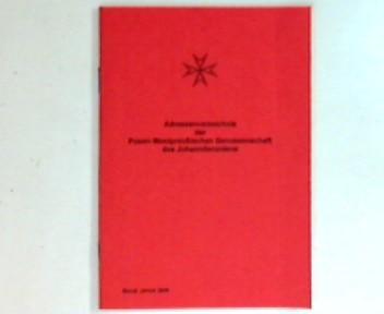 Adressenverzeichnis der Posen-Westpreußischen Genossenschaft des Johanniterordens