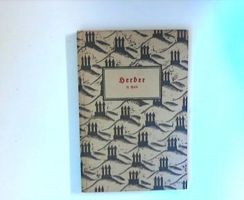 Herder. Auswahl aus seinen Schriften.Teil 2 Dreiturmbücherei