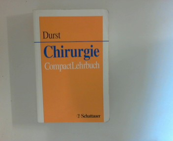 Chirurgie : CompactLehrbuch