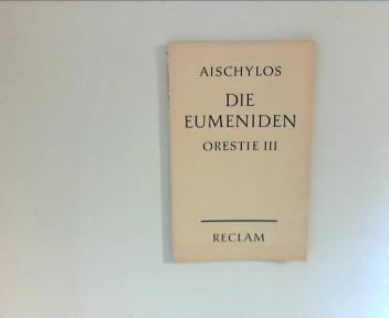Die Eumeniden: Orestie III