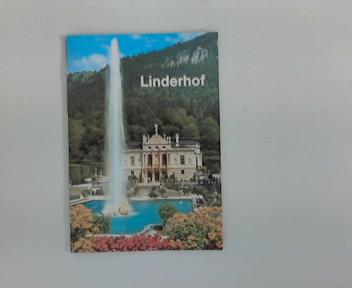 Schloss Linderhof. ; Linderhof Castle, Le Chateau de Linderhof