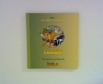 Bambi - Disney Filmklassiker: Mit Spielen und Rätseln Disney Filmklassiker Sonderausgabe für Familie & Co