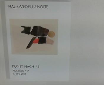 Hauswedell und Nolte : Kunst nach