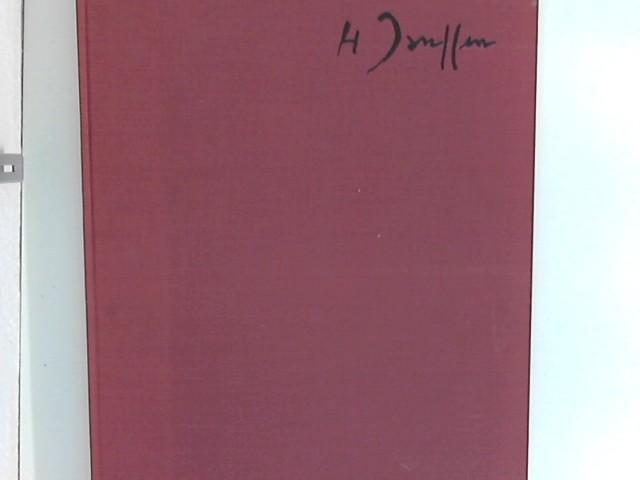 Janssen, Horst: Zeichnungen : Mit einem autobiographischen Text ; Ausgabe B : am 27. 7. 70 vom Künstler signiert