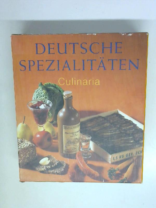 Culinaria: Deutsche Spezialitäten (2 Bände)