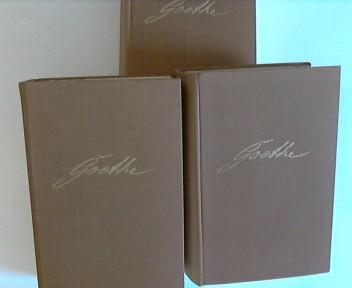 Johann Wolfgang von Goethes Werke in Drei Bänden - Alle 3 Bände