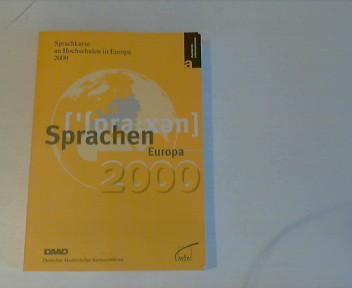Sprachkurse an Hochschulen in Europa 2000
