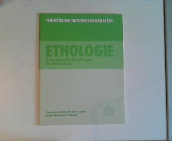 Fernstudium Naturwissenschaften. Ethologie 5. Hormonelle Grundlagen des Verhaltens
