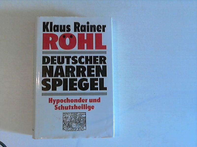 Deutscher Narrenspiegel 3., Aufl.