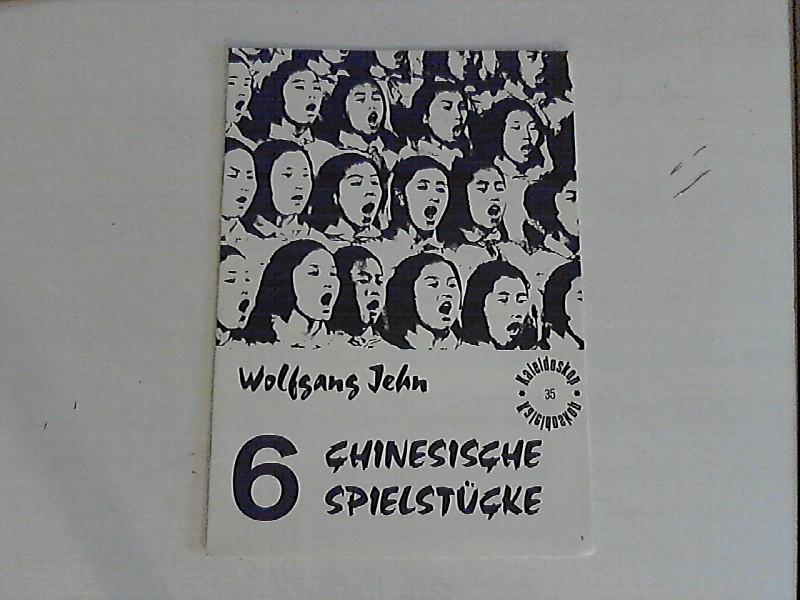 6 chinesische Spielstücke.