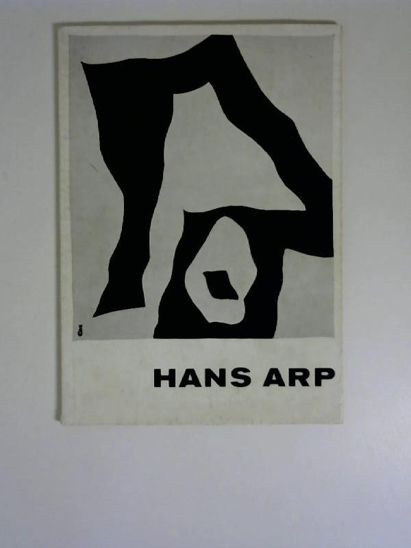 Hans Arp Ausstellung Essen Folkwang Museum 1959/60 1960
