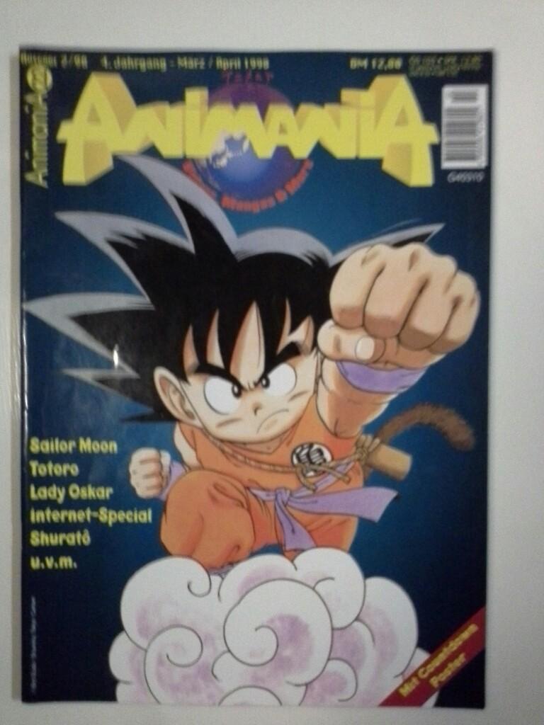 Animania 22  Wildes Mangas & More Ausgabe 2 / 98