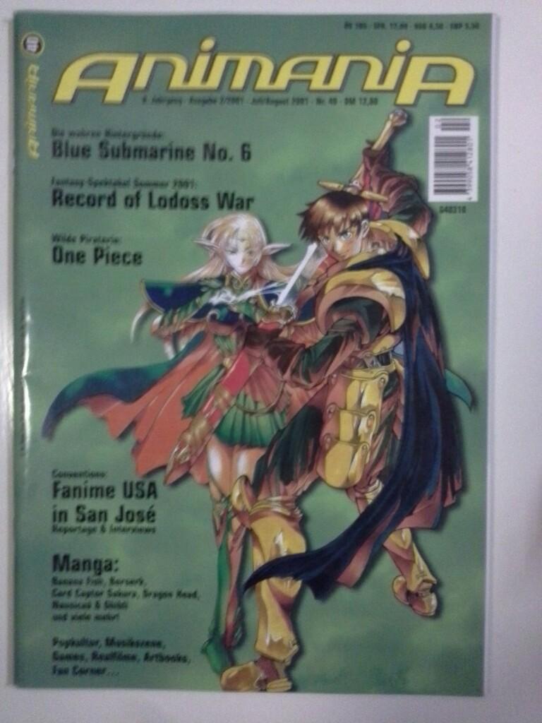Animania 40 Ausgabe 2 / 2001