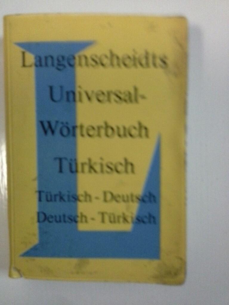Langenscheidt Universal-Wörterbuch Türkisch - Türkisch-Deutsch / Deutsch-Türkisch 8. Aufl.