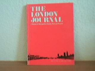 The London Journal - A review of Metropolitan Society Past and Present: Vol 6 No. 2