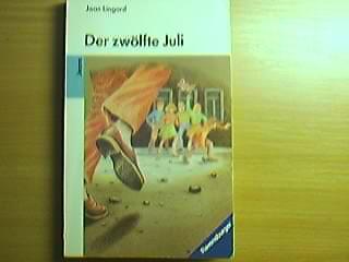 Der zwölfte Juli : eine Geschichte aus Nordirland. Mit einem Nachw. von Wieland Giebel. Aus dem Engl. von Cornelia Krutz-Arnold, Ravensburger Taschenbuch ; Bd. 4056 : Jeans [4. Aufl.]