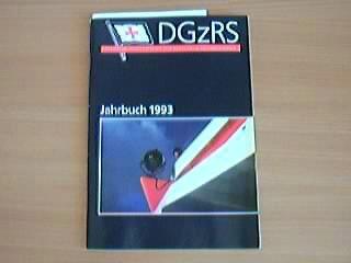 Deutsche Gesellschaft zur Rettung Schiffbrüchiger: Jahrbuch 1993 und Tätigkeitsbericht 1992