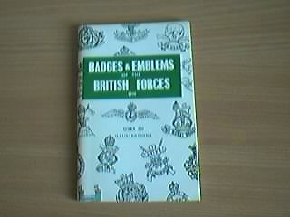 Badges and Emblems of the British Forces 1940