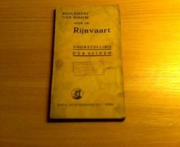 Reglement van politie voor de Rijnvaart: Bijlage 3 Voorstelling der seinen