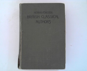 British classical Authors with biographical notes