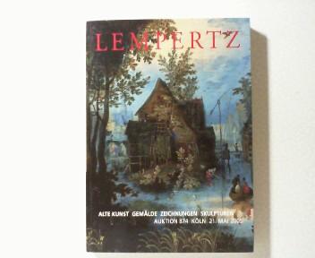Lempertz Auktion 874 Alte Kunst, Gemälde, Zeichnungen, Skulpturen