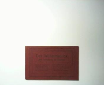 Der Wilhelmsblick bei Treseburg im Bodetal.  9 Postkarten, (Total v. weißen Hirsch, Eingang zum Wilhelmstal, Schutzhütte, Bodebrücke, Hotel Roßtrappe, Hexentanzplatz u.a.)