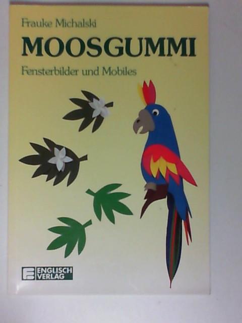 Moosgummi; Teil: Fensterbilder und Mobiles.