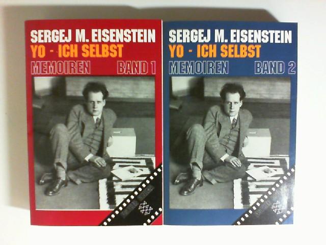 yo - ich selbst. Memoiren Band 1 und Band 2. herausgegeben von naum klejmann und walentina korschunowa. einleitung von sergej jutkewitsch. . 2 bände