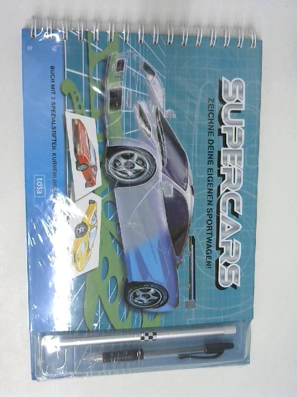 Supercars! Zeichne deine eigenen Sportwagen