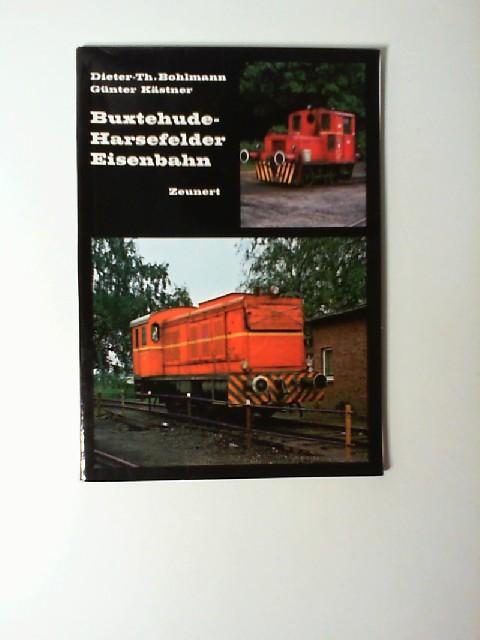 Buxtehude-Harsefelder Eisenbahn. Dieter-Theodor Bohlmann ; Günter Kästner. [Fotos Bohlmann ...] / Kleinbahn-Bücher