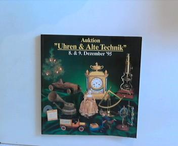 """Auktion """"Uhren & Alte Technik"""" 8 & 9. Dezember ´95"""