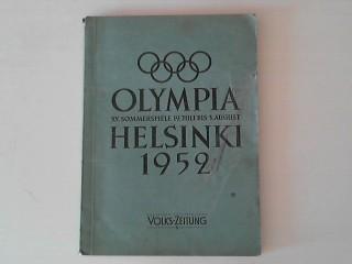 Olympia Helsinki 1952 XV. Sommerspiele 19.Juli - 13.August
