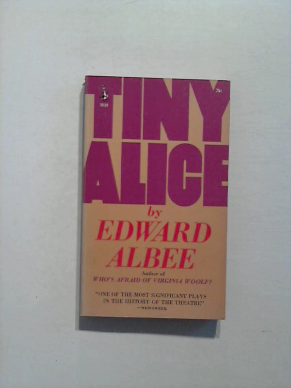 Tiny Alice. 2nd printing